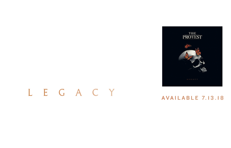 The Protest Legacy Banner